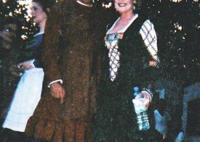 Falstaff (with Mayor Giuliani), New York Grand Opera, Central Park
